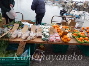 葉山朝市野菜