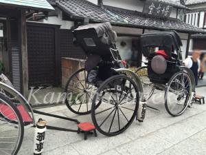 鶴岡八幡宮人力車